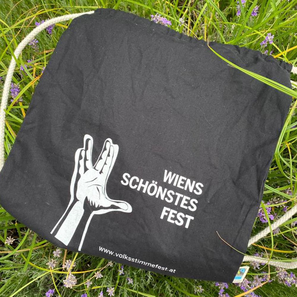 Volksstimmefest Merchandise: Gymbag (Turnsack)