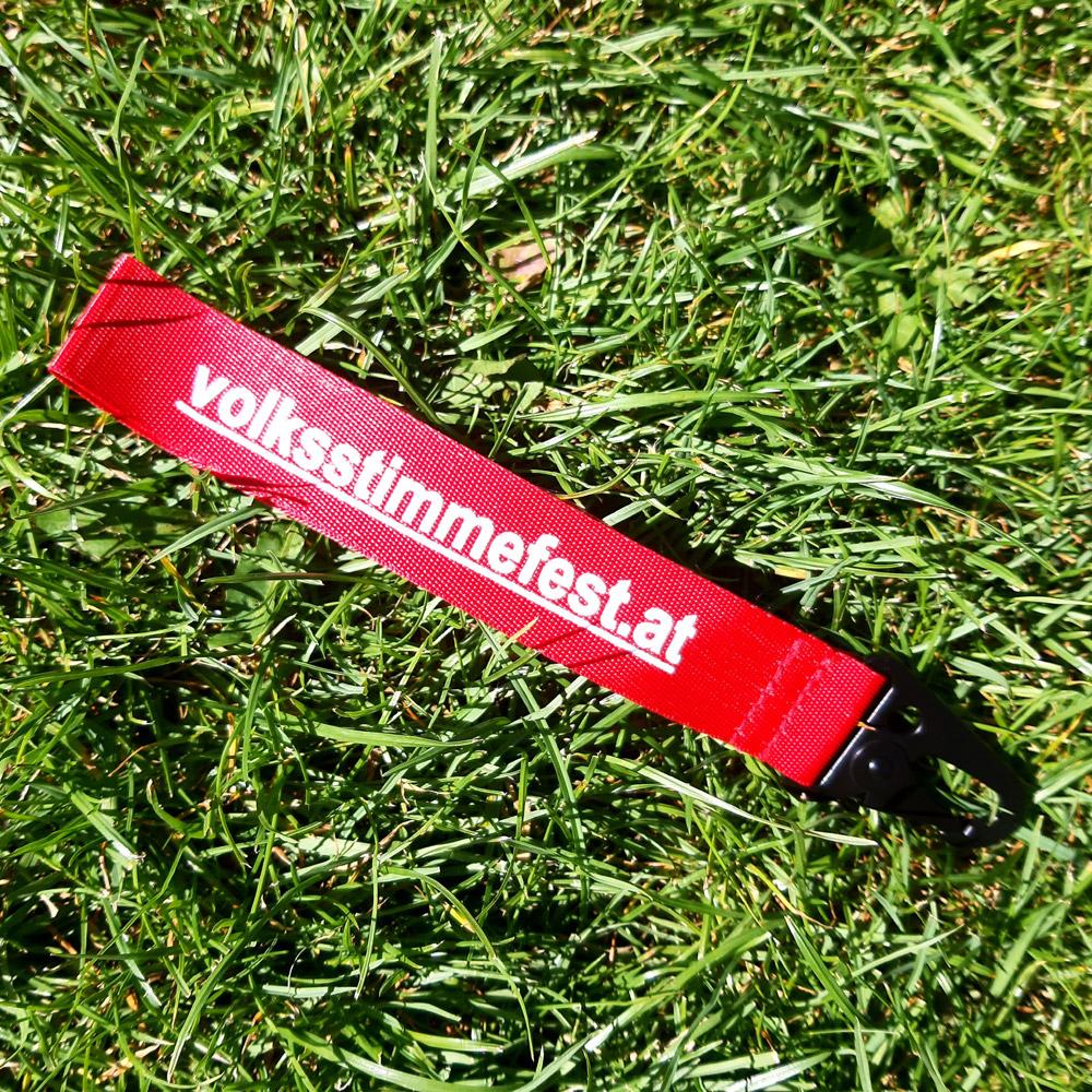 Volksstimmefest Merchandise: Schlüsselanhänger