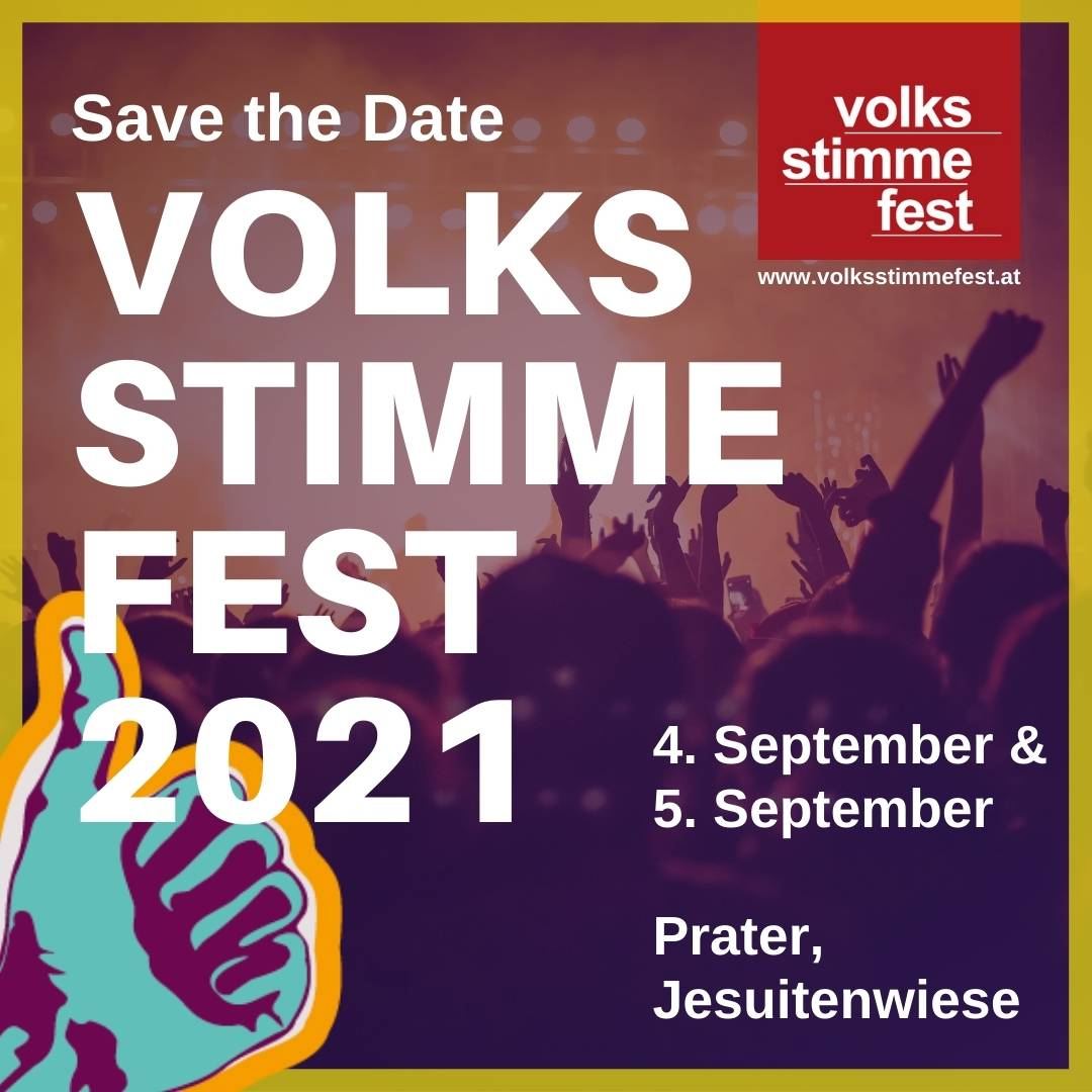 Save the Date: Volksstimmefest 2021, 4. & 5. September